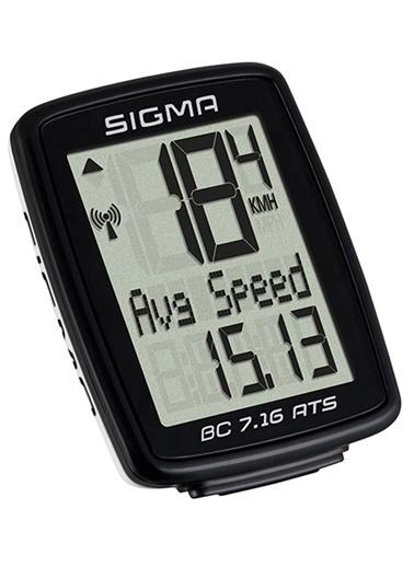 Sigma Sigma Km Saati Bc 7.16 Ats Kablosuz Siyah  Siyah
